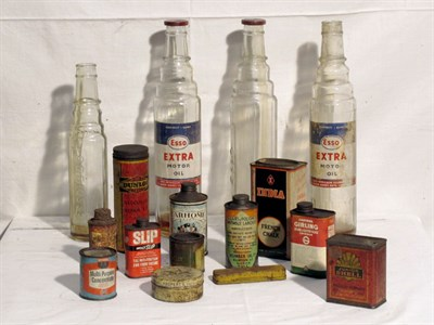 Lot 88 - Quantity of Glass Oil Bottles