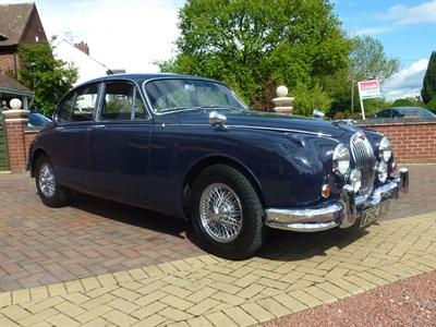 Lot 45 - 1964 Jaguar MK II 3.4 Litre