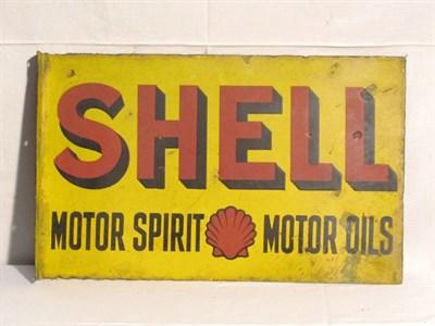 Lot 95 - 'Shell' Enamel Advertising Sign