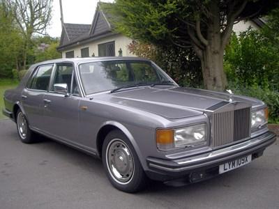 Lot 6 - 1982 Rolls-Royce Silver Spirit