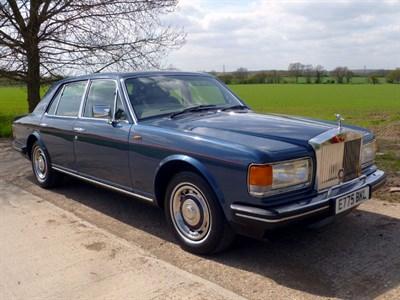 Lot 25 - 1987 Rolls-Royce Silver Spirit