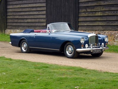 Lot 38 - 1960 Bentley S2 Continental Drophead Coupe