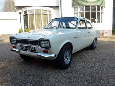 Lot 56 - 1968 Ford Escort Twin Cam - Works Car