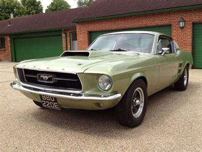 Lot 55 - 1967 Ford Mustang V8 Fastback