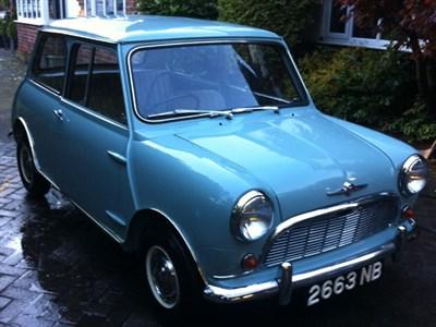 Lot 3 - 1960 Austin Mini 850