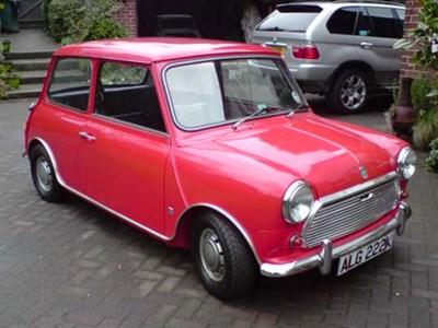 Lot 17 - 1971 Morris Mini Cooper S