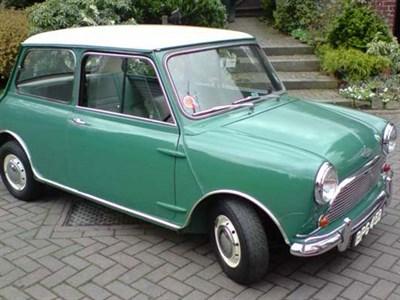 Lot 16 - 1964 Austin Mini Cooper S 1071