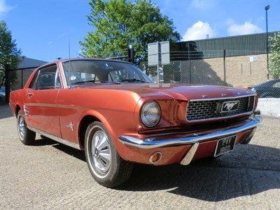 Lot 59 - 1966 Ford Mustang Notchback