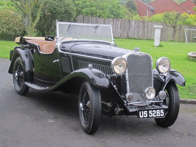 Lot 36-1934 Singer 1.5 Litre Four Seater Sports Tourer