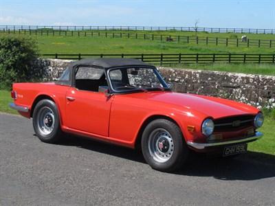Lot 15 - 1972 Triumph TR6