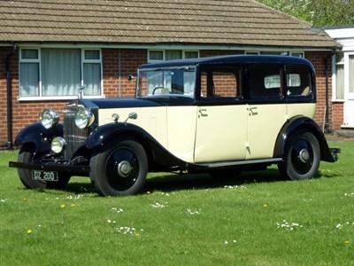 Lot 19 - 1932 Rolls-Royce 20/25 Limousine