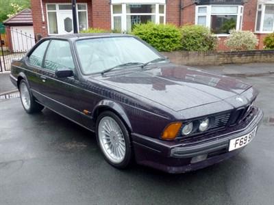 Lot 77 - 1989 BMW 635 CSi
