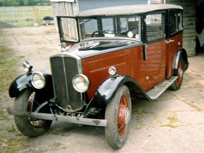Lot 30 - 1930 Swift 10hp Saloon