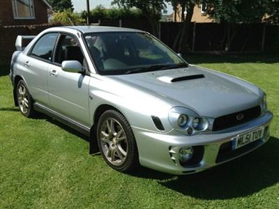 Lot 22 - 2001 Subaru Impreza WRX