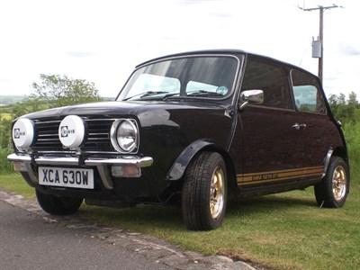 Lot 58 - 1980 Austin Mini 1275 GT