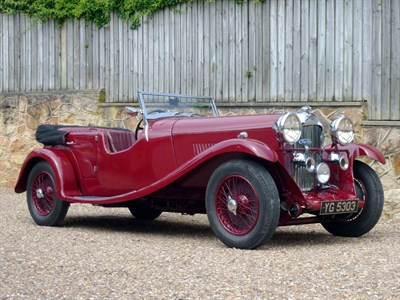 Lot 68 - 1933 Lagonda 16/80 Special Six Tourer