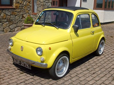 Lot 42 - 1971 Fiat 500 L