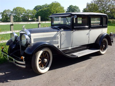 Lot 63 - 1929 Hudson Super Six 'Pinecone' Saloon