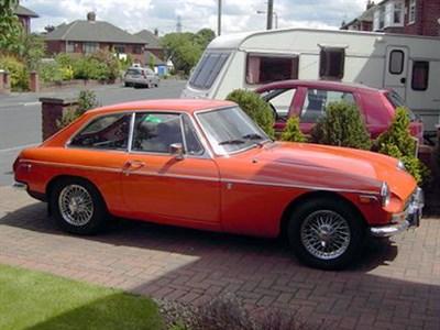 Lot 33 - 1973 MG B GT