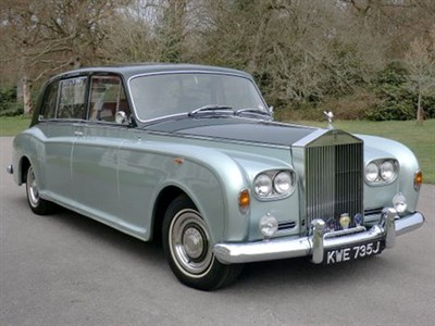 Lot 54-1971 Rolls-Royce Phantom VI Limousine