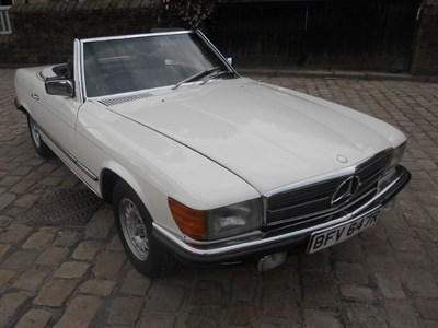 Lot 85 - 1977 Mercedes-Benz 350 SL