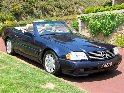 Lot 57 - 1995 Mercedes-Benz SL 500