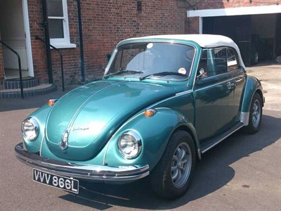 Lot 89 - 1973 Volkswagen Beetle Cabriolet