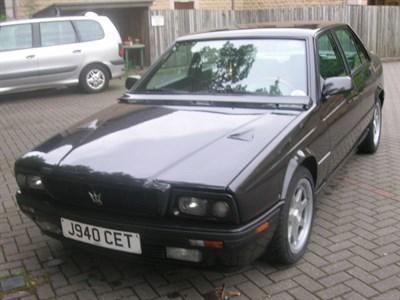 Lot 91 - 1992 Maserati 424