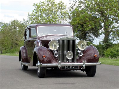 Lot 26-1939 Rolls-Royce Wraith Special Saloon