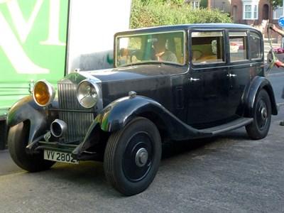 Lot 7 - 1934 Rolls-Royce 20/25 Limousine