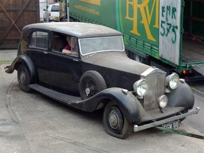 Lot 11 - 1939 Rolls-Royce Wraith Sedanca de Ville