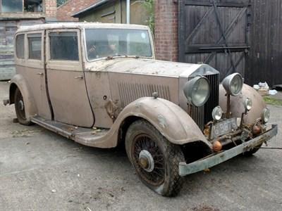 Lot 5 - 1934 Rolls-Royce 20/25 Limousine