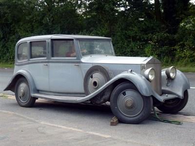Lot 13 - 1935 Rolls-Royce 20/25 Limousine de Ville