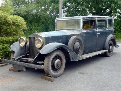 Lot 6-1934 Rolls-Royce Phantom II Limousine