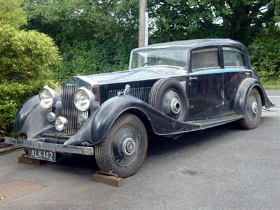 Lot 14 - 1933 Rolls-Royce Phantom II Continental Touring Saloon