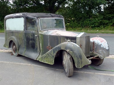 Lot 4-1933 Rolls-Royce 20/25 Hearse