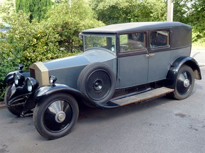 Lot 15-1928 Rolls-Royce 20hp Weymann Saloon