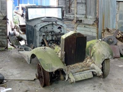 Lot 9 - 1933 Rolls-Royce Phantom II Rolling Chassis