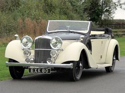 Lot 87-1938 Alvis 4.3 Litre Drophead Coupe