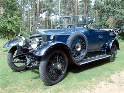 Lot 50-1923 Rolls-Royce 20hp Cabriolet