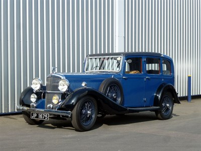 Lot 61-1936 Alvis Crested Eagle TF 25.63 Six Light Saloon