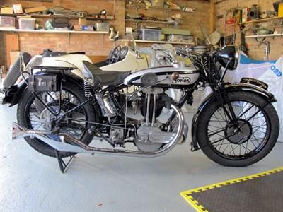 Lot 62-1930 Norton Model 20