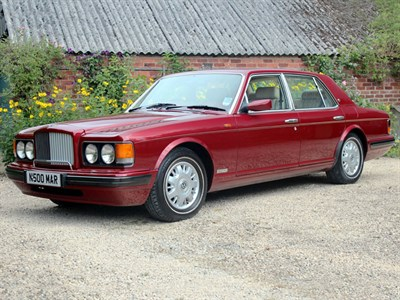 Lot 41-1996 Bentley Brooklands