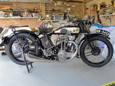 Lot 39 - 1928 Raleigh Model 25 SS