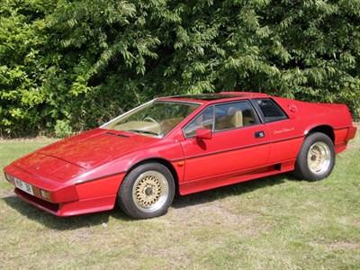 Lot 71 - 1987 Lotus Turbo Esprit HC