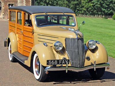 Lot 25-1936 Ford V8 'Woodie' Station Wagon