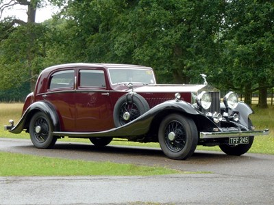 Lot 17-1934 Rolls-Royce Phantom II Continental Sports Saloon