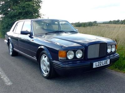Lot 11 - 1997 Bentley Brooklands (LPT)