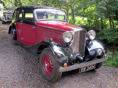 Lot 27-1937 British Salmson 14hp S4D