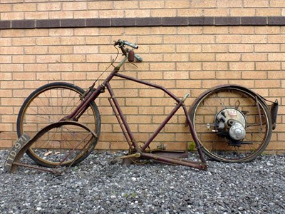 Lot 23-1954 BSA Winged Wheel